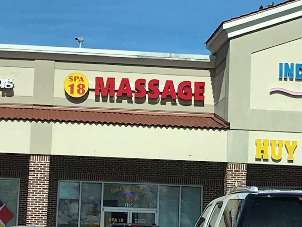 Asian massage parlor website