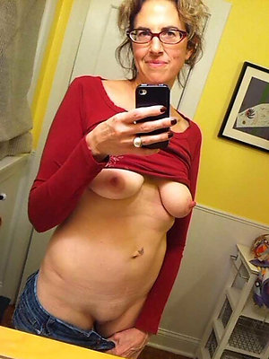 Naked self shot nude mature selfie
