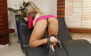 Hot blonde boss porn