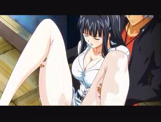 Anime girl class nude