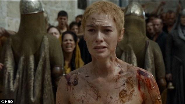 Walk of shame cersei lena headey