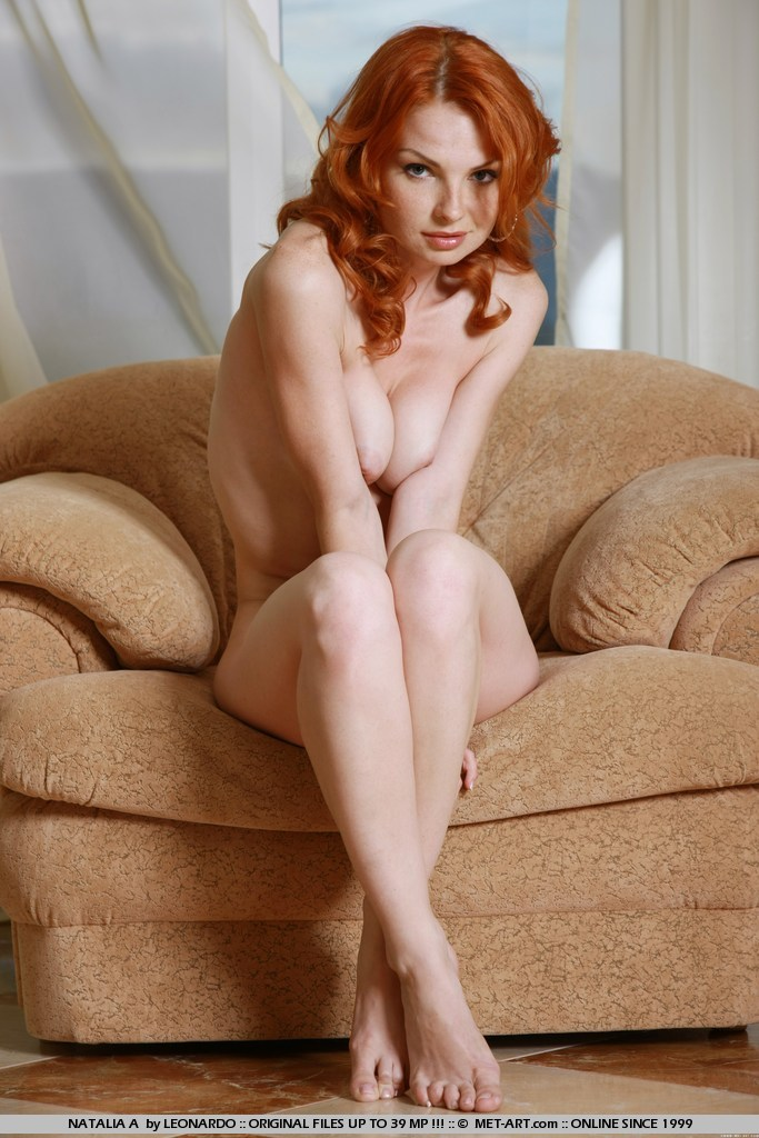 Retro girls redhead freckles nude