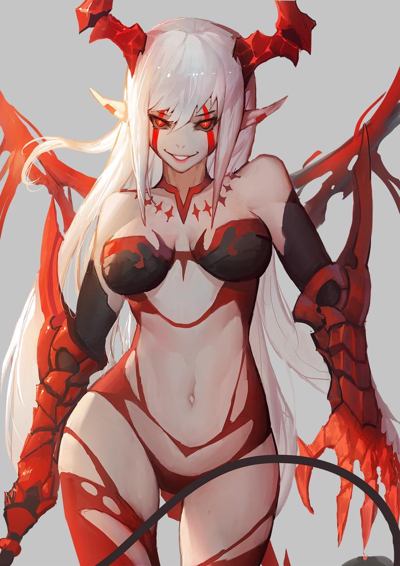 Anime demon girl porn