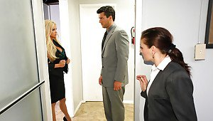 Office marie mccray blowjob