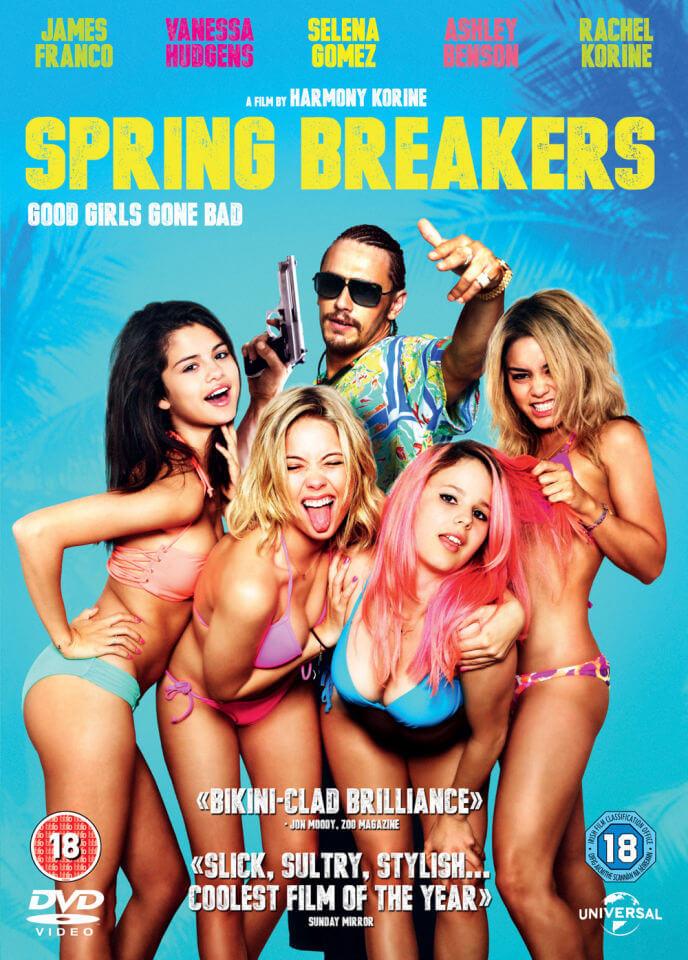 Selena gomez spring breakers arrested
