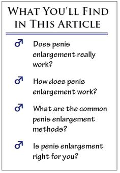 Do penis excersizes work