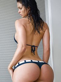 Hot big ass bikini