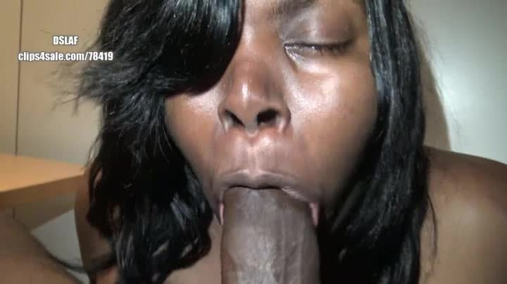 Sucking ebony bbw facials