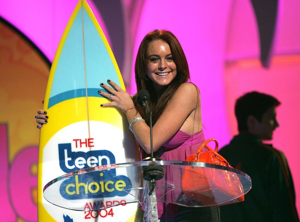Pics lindsay awards lohan choice teen