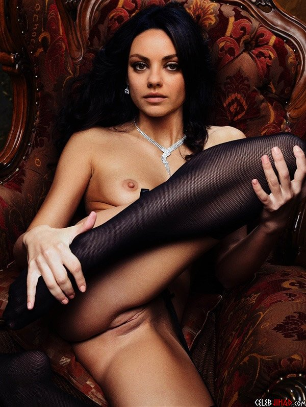 Photo nude mila kunis