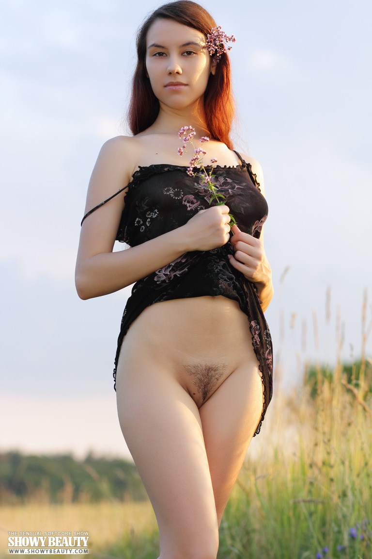 Group girls show hairy pussy
