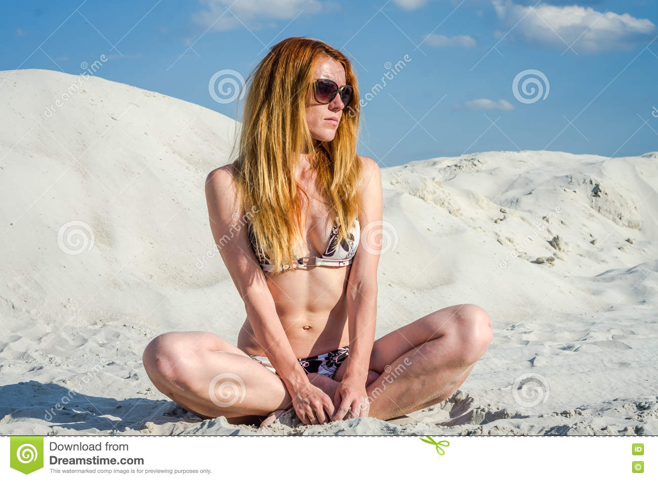 Sexy girl nudist beach