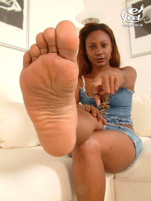 Sexy naked black girls soles