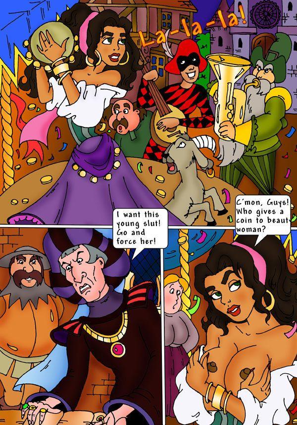 Hunchback of notre dame esmeralda porn