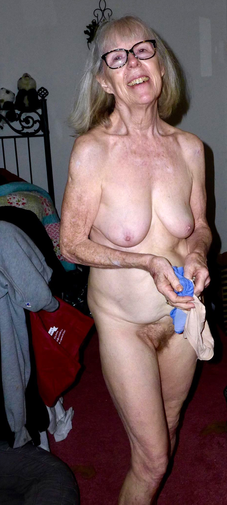 Hot 60 year old woman naked