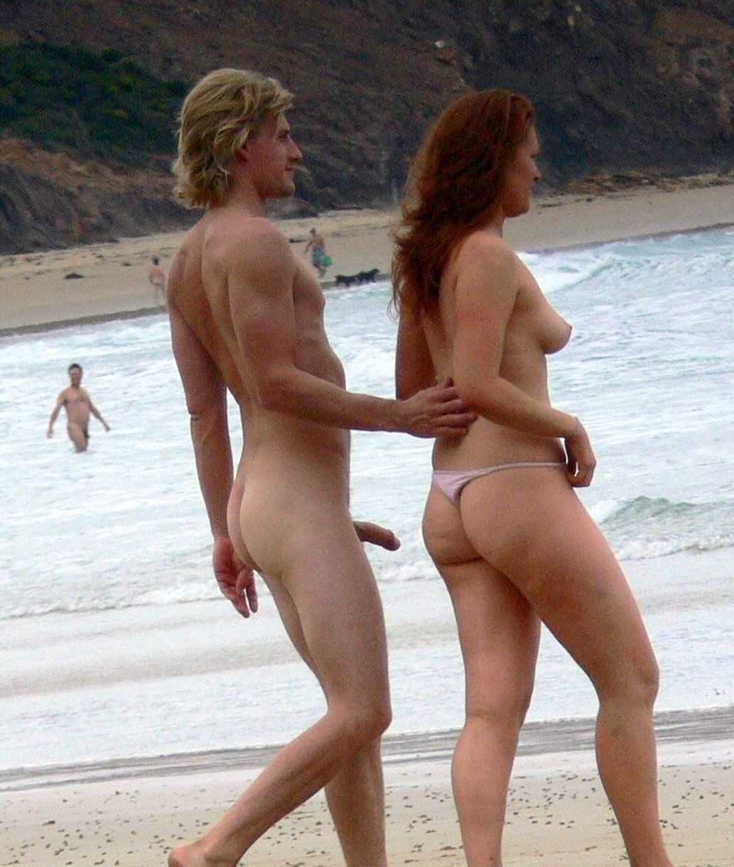Penis beach girl nude erect