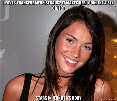 Megan fox transformers sex