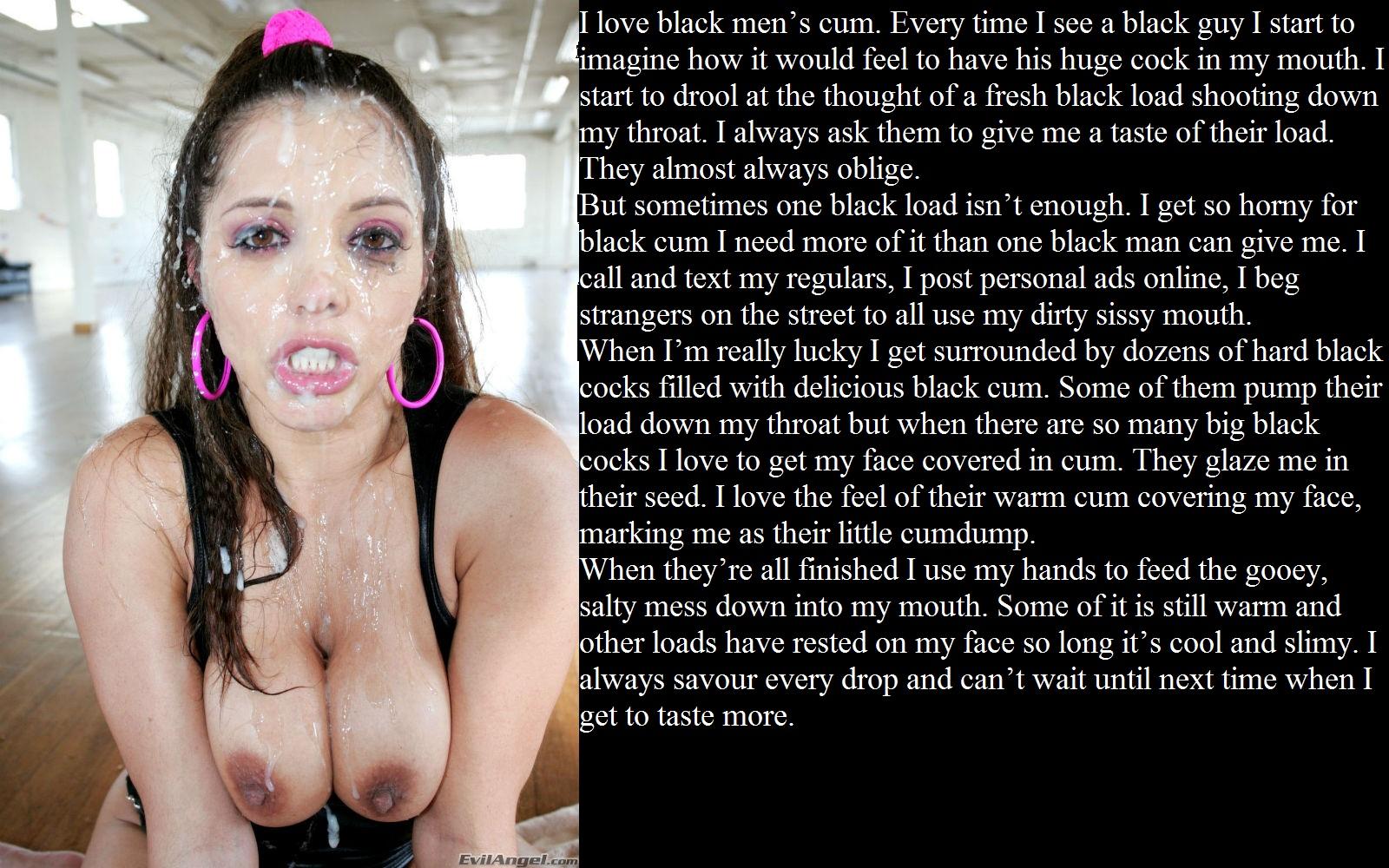Black girl slut captions