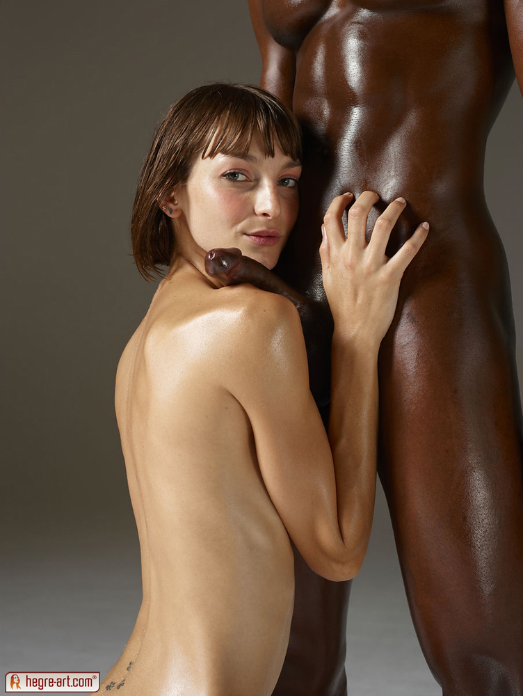 Erotic nude art couples interracial
