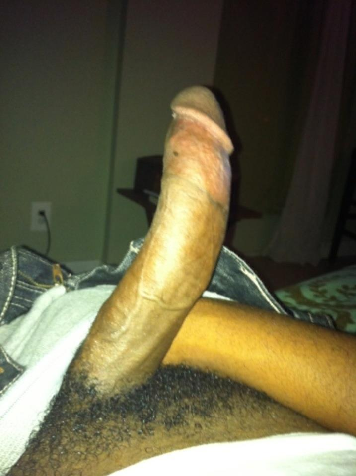 Huge black curved cocks