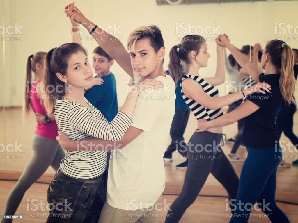 Adult learn to dance