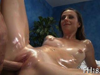 Sexy white girl fucked hard
