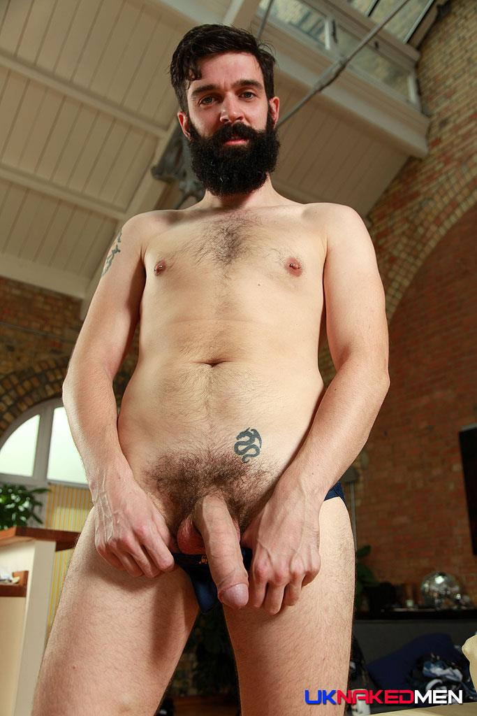 Uncut naked men with long beards