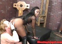 Porn claudle british ebony