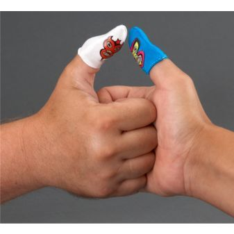 Wrestler remove thumb