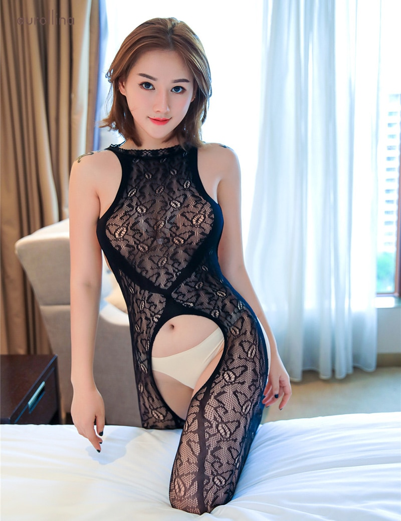 Woman sexy stocking mature