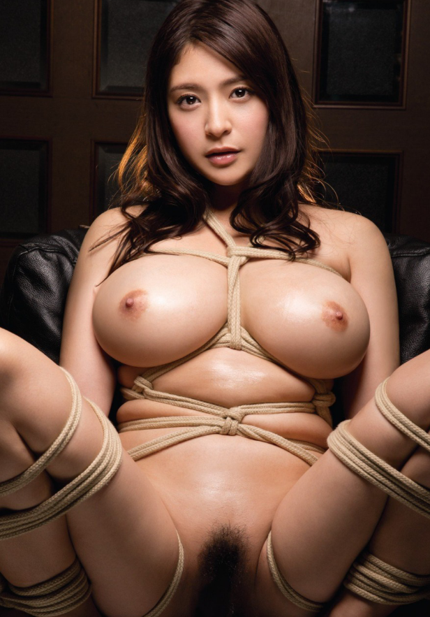 Hot asian lady naked breast