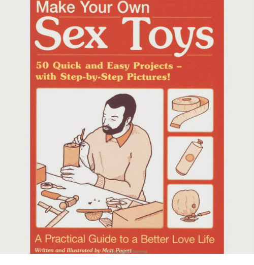 Sex machine how to make your own