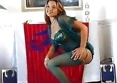 Christina model garter hose vibrator