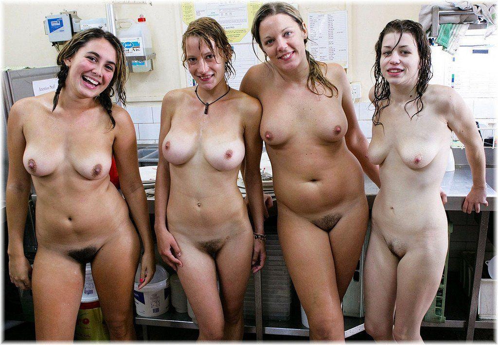 Average girls nude group