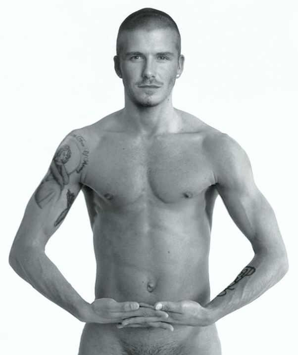 David beckham nude naked