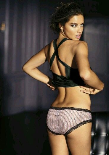 Adriana lima ass