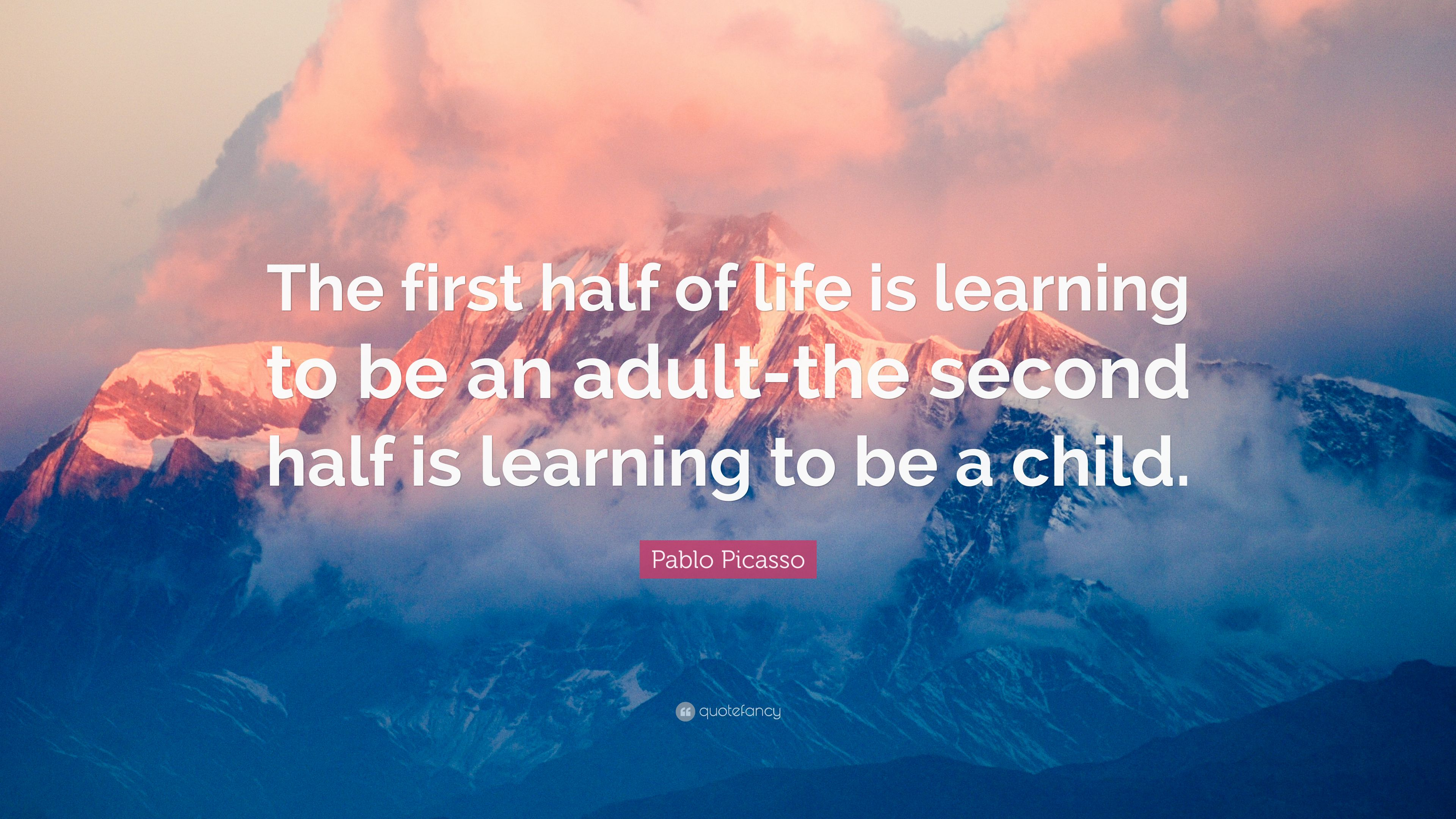 Quotes adult and and learning life and