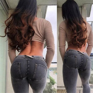 Hot girl tight jeans