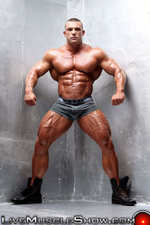 Free big muscle men naked