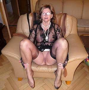 Grannies in stockings naked
