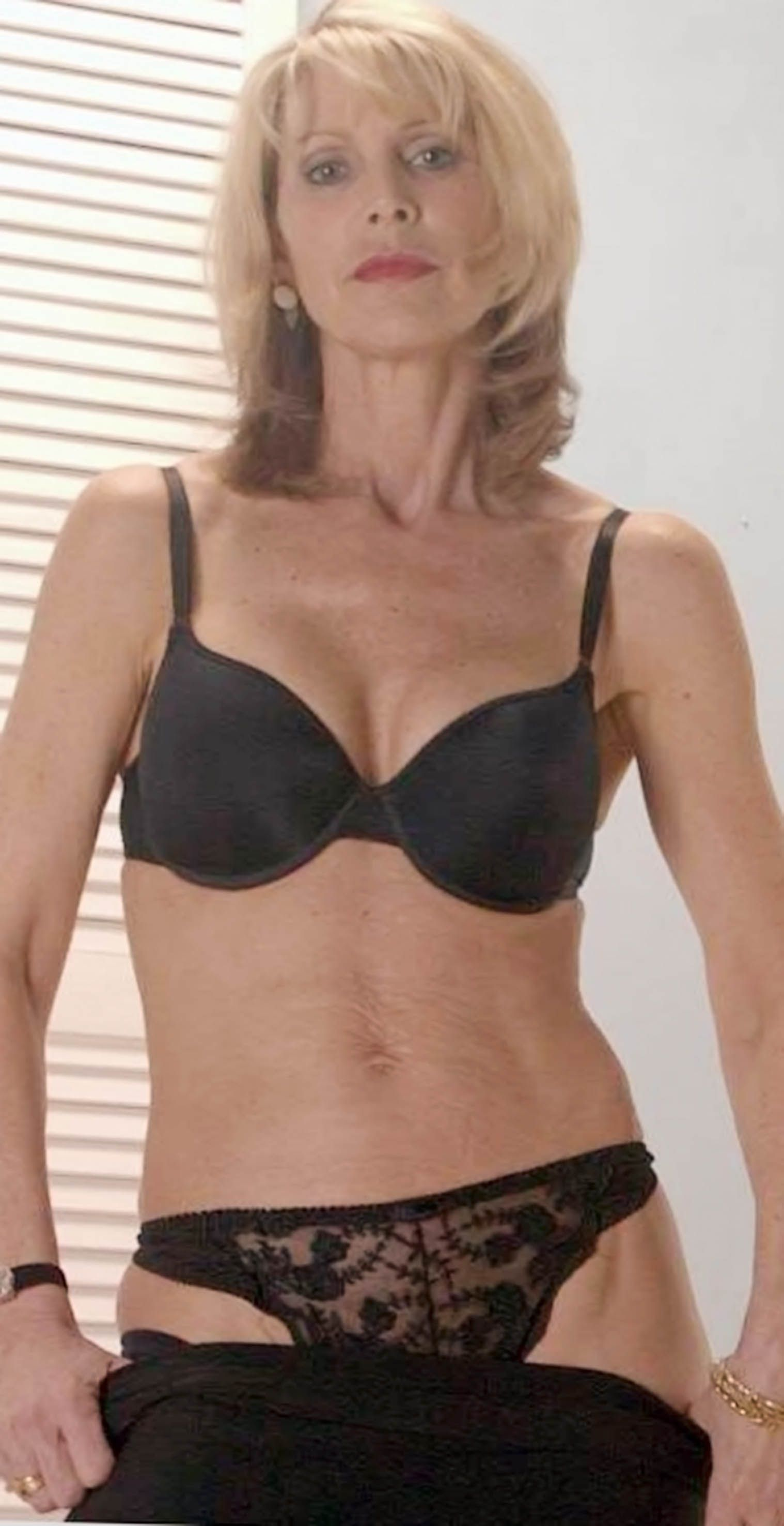 Beautiful mature women lingerie