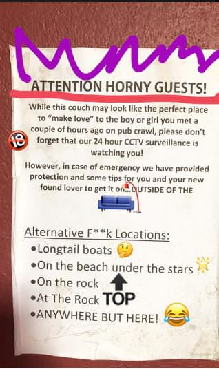 Top ten places to have sex