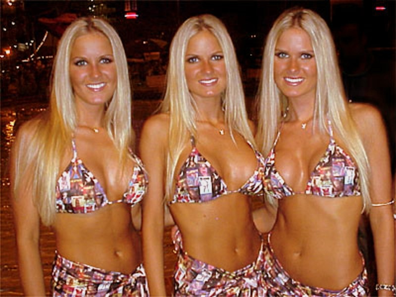 Nude twins playboy dahm triplets