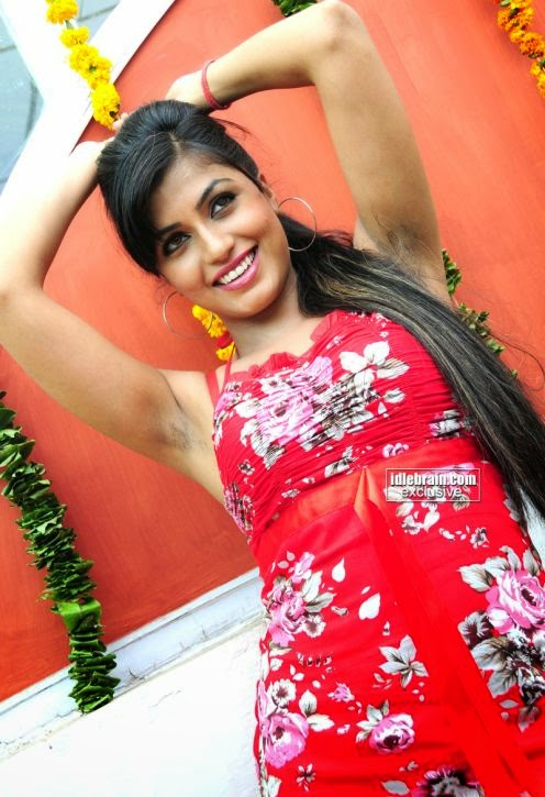 Indian hairy armpit girl