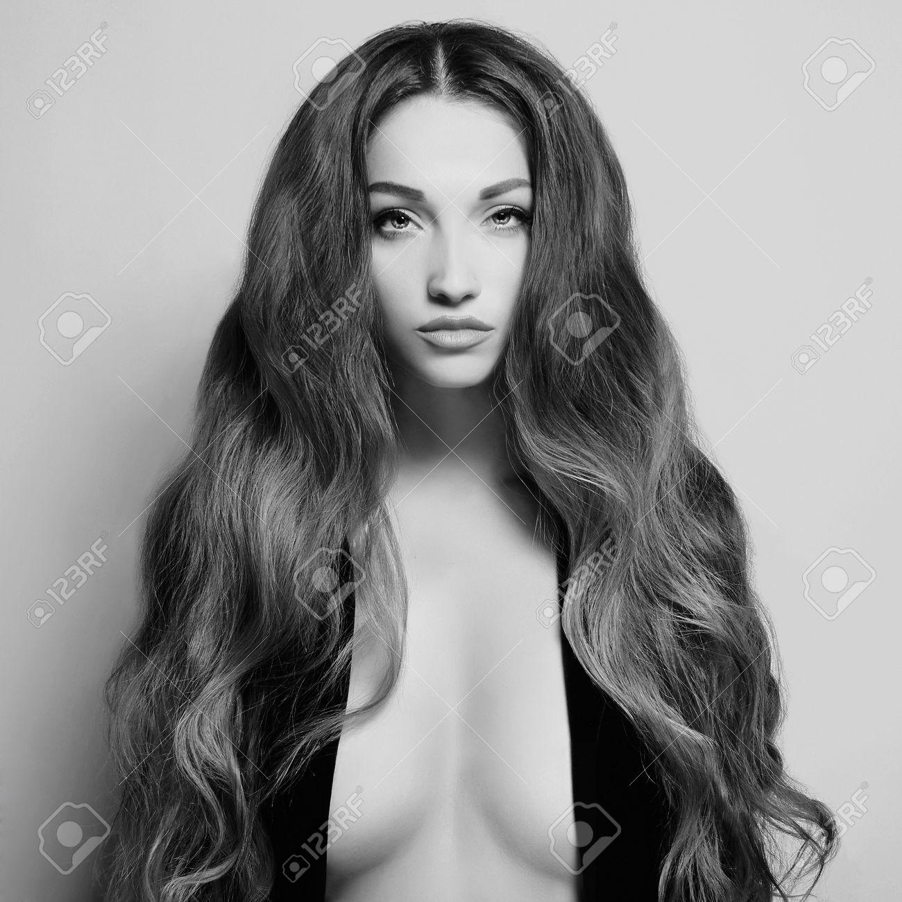 Naked big boobs girl topless
