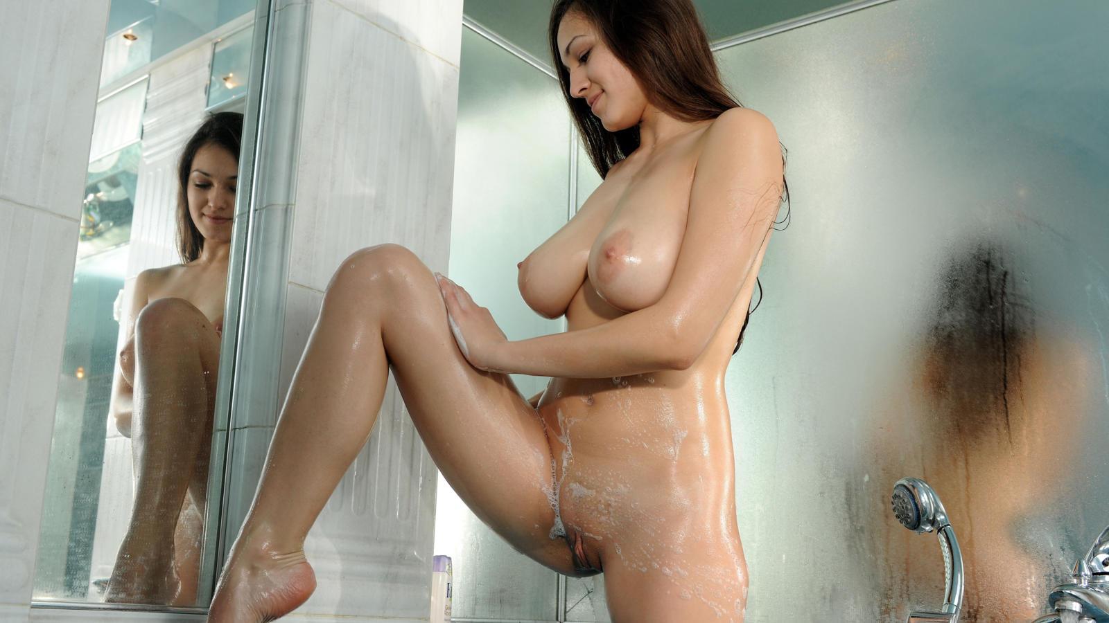 Nude shower room girls
