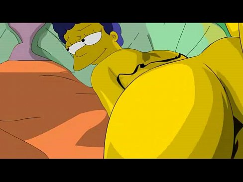 Marge simpson ass nudo