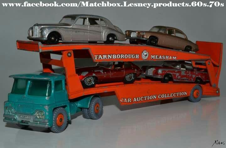 Vintage toys matchbox autotransport