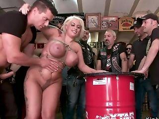 Amateur biker sex party