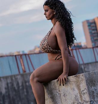 Black african sex big